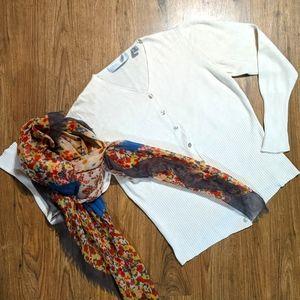 Valerie Stevens Pure Silk Sweater Med